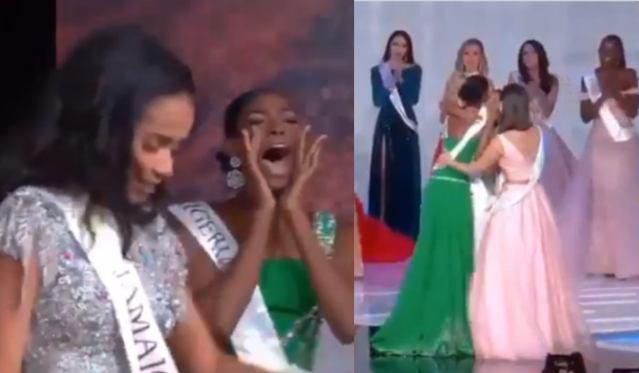 Nyekachi Douglas: Miss Nigeria's Reaction To Tony-Ann Singh Winning Miss World 2019 Is Friends Goals 6