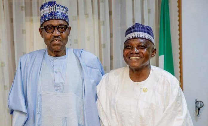 Garba Shehu And Buhari