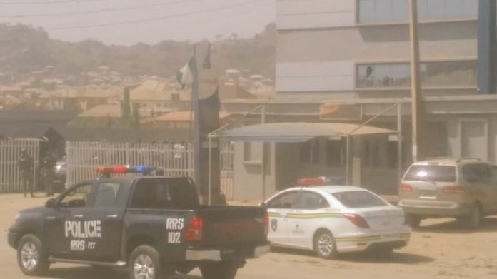 Abuja Robbery: Police, Army Arrest Robbers Trapped In Bank