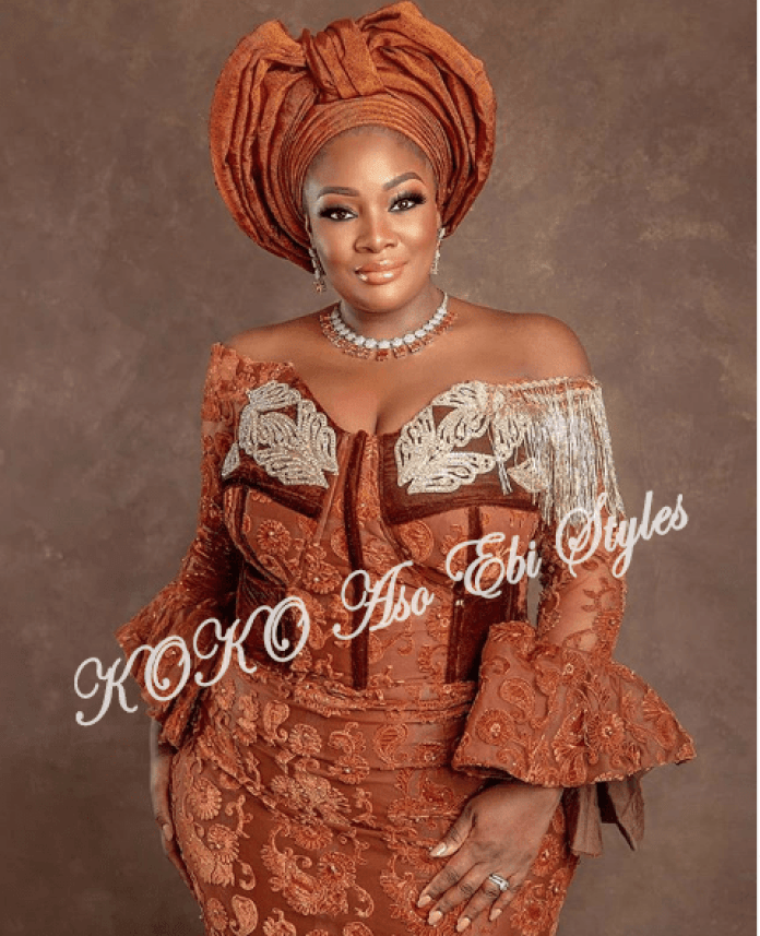 Aso Ebi Styles For December! December Slay Keeps Getting Better With These
