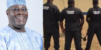 Atiku Condemn SARS
