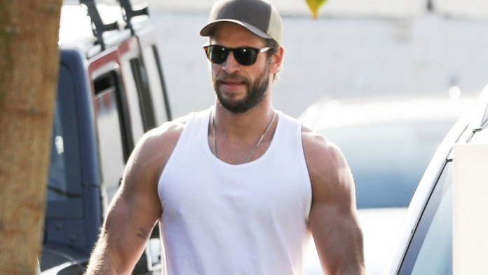 Liam Hemsworth's Sexy Biceps Are Everything