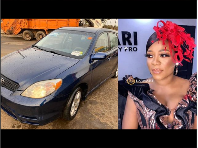 Kunle Afod Surprises Wife With Brand New Car