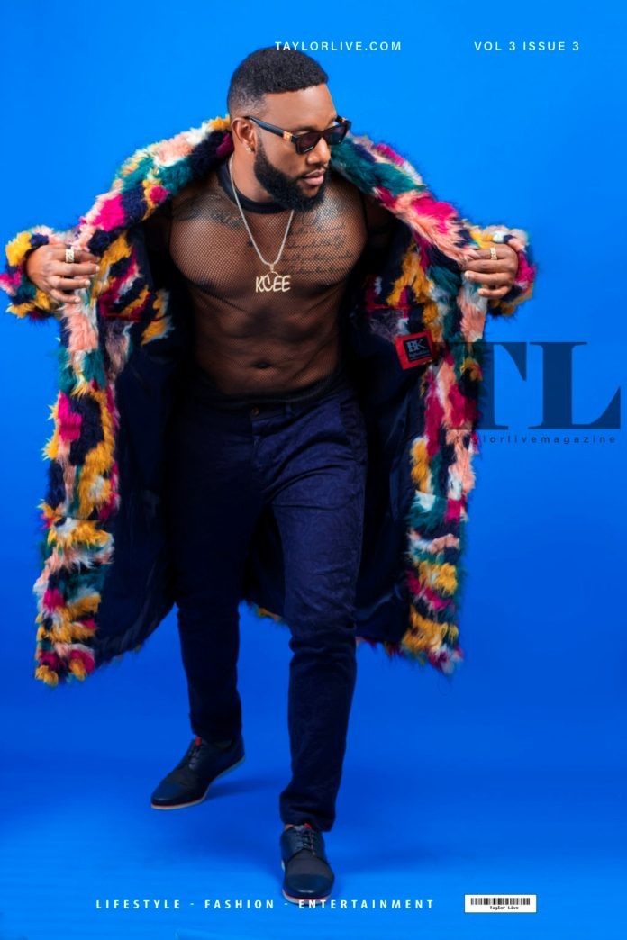 Kcee Is Super Stylish On The New Issue Of Taylor Live Magazine