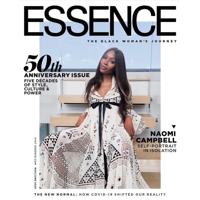 Naomi Campbell Looks Splendid On The Cover Of Essence Magazine
