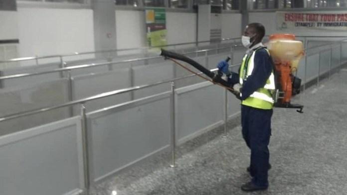 FAAN Begins Fumigation Of Lagos, Abuja, Port-Harcourt Airports