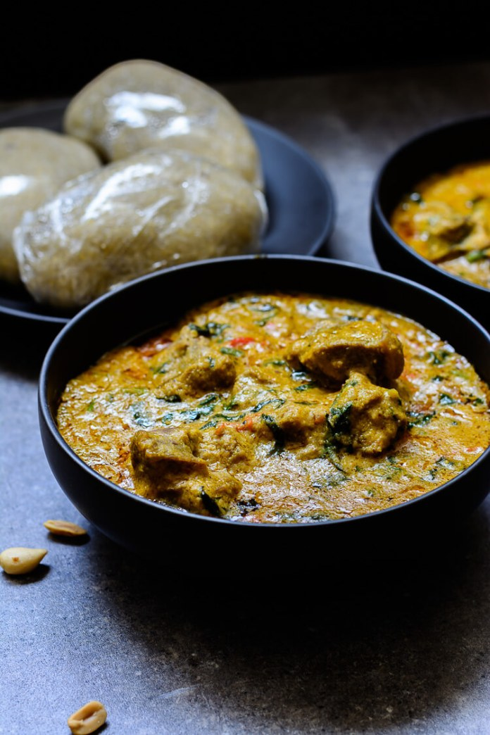 FOOD: How To Make Groundnut Soup, The Northern Egusi