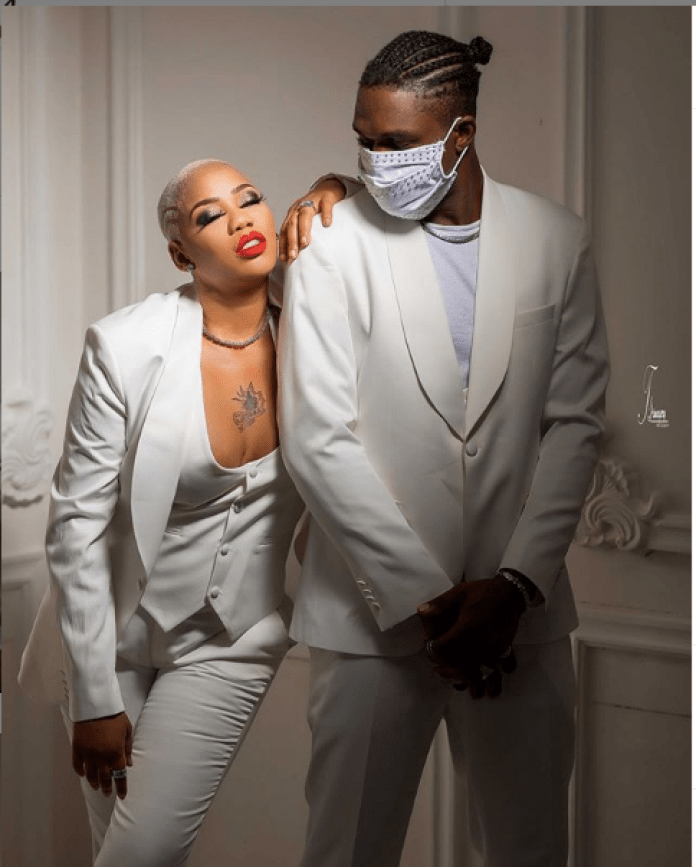 Toyin Lawani Drags Blogger Over Post About Her fiancé