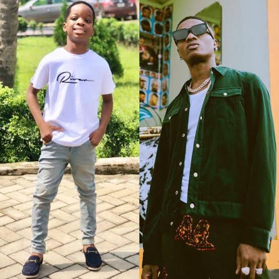 Wizkid Gifts His First Son, Boluwatife A PS5
