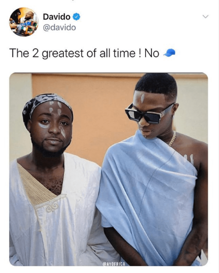 Twitter Fires Burna Boy For His Statement After Davido's GOAT Post