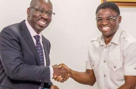 Philip Shuaibu and Godwin Obaseki