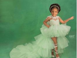 Bukola Adeeyo's Daughter Janell Is A KOKOnista From Birth!