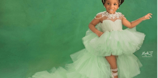 Bukola Adeeyo's Daughter Janell Is A KOKOnista From Birth!