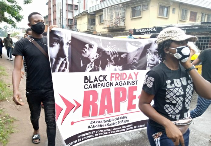UNILAG Concerned Students Walk Against Rape