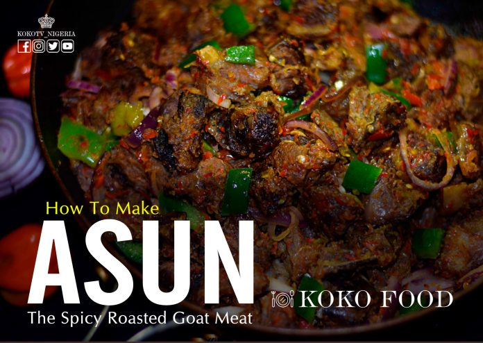 How To Make Asun, The Spicy Roasted Goat Meat