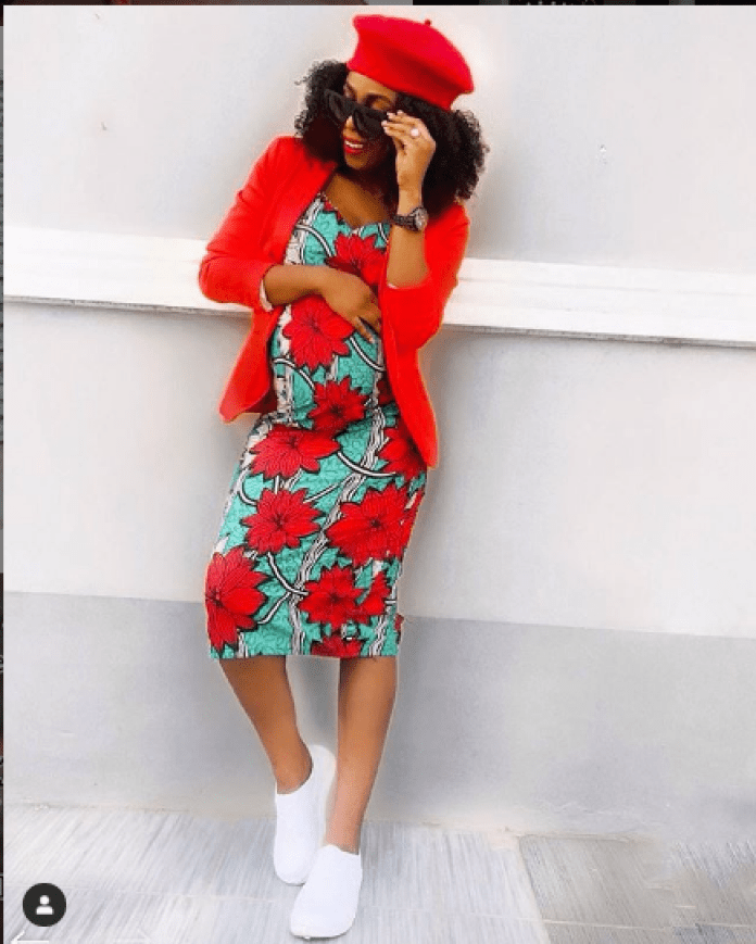 Nmabekeh Takes Maternity Style To The Next Level