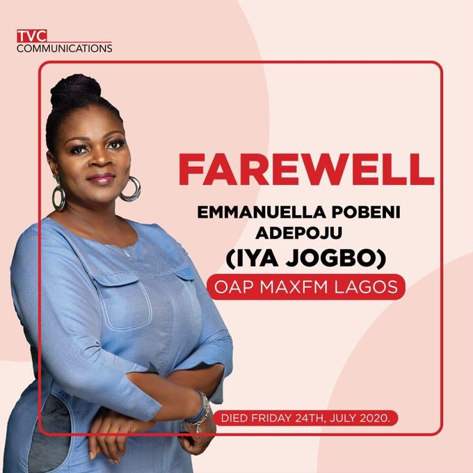 Emmanuella Pobeni Adepoju Iya Jogbo