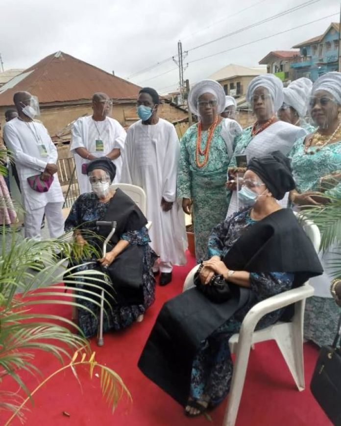PHOTOS From Chief Bode Akindele's Final Burial In Ibadan