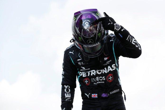 Lewis Hamilton BLM F1