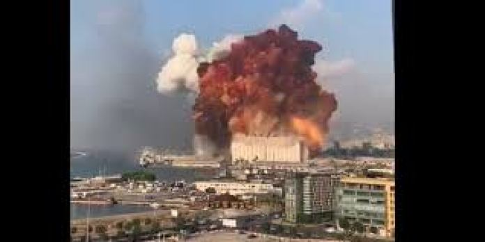 Beirut Explosion: Large Explosion Occur In Lebanon Capital