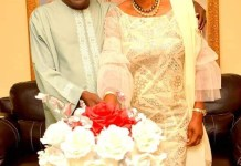 Bola Ahmed and Oluremi Tinubu
