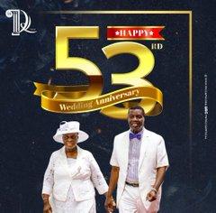 Pastors Enoch And Folu Adeboye Celebrate 53rd Wedding Anniversary