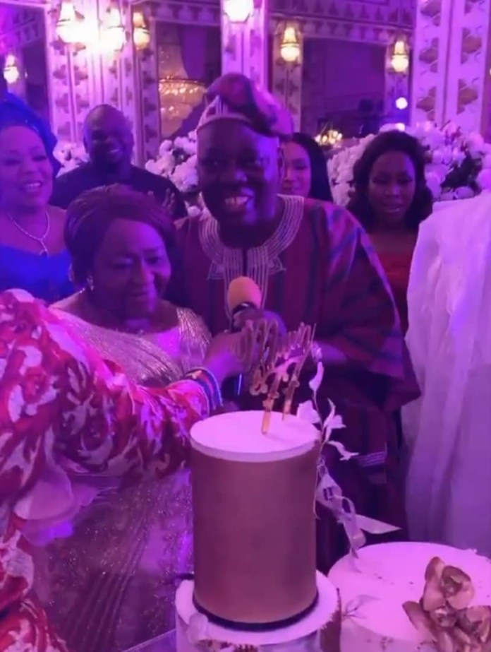 Rasaq Okoya and Wives Kuburat Okoya and Sade Okoya