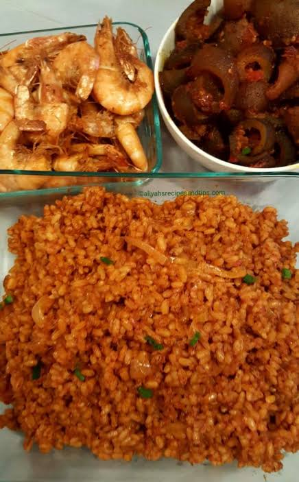 Ofada Jollof Rice