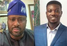 Desmond Elliot and Tope Akinyode