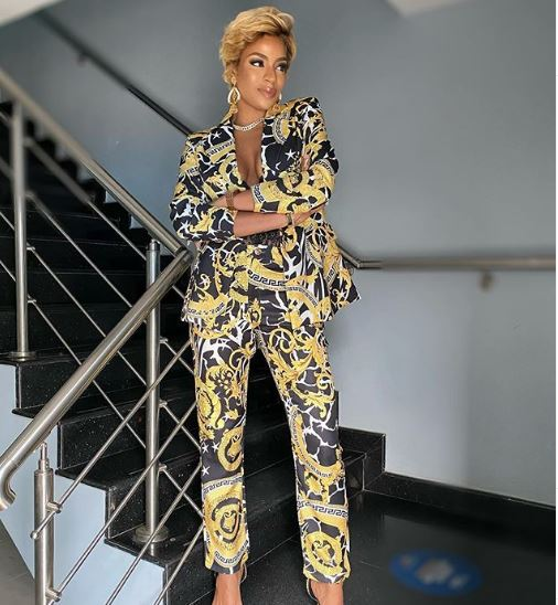Venita Akpofure Shows Us How To Rock A Power Suit In The Most Stunning Way