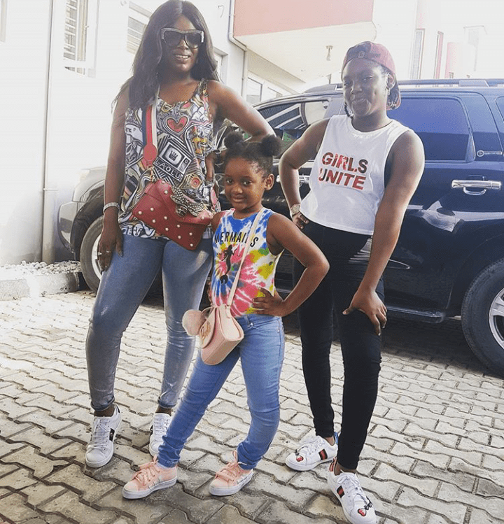 Annie Idibia Celebrates Daughter's Bravery As She Undergoes Legs Surgery