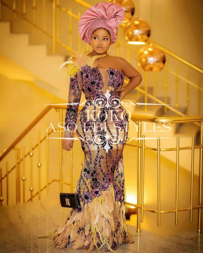 Unique Aso Ebi colour Styles for Nigerian Owanbes