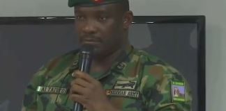 Brigadier General Ahmed Ibrahim Taiwo speaking on Lekki Killings at the Lagos Judicial Panel