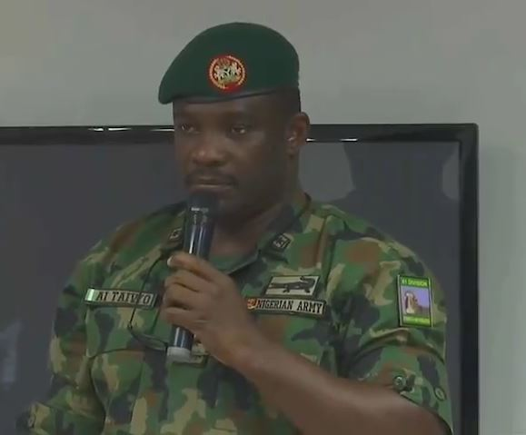 Brigadier General Ahmed Ibrahim Taiwo speaking on Lekki Killings at the Lagos Judicial Panel