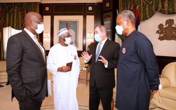 Buhari receives Angola's Sabri Boukadoum