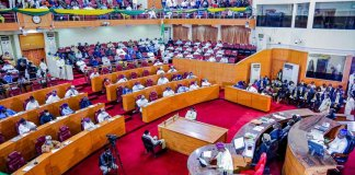 Sanwo-Olu Presents 2021 Budget To Lagos House Of Assembly