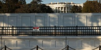Donald Trump Orders White House Barricade