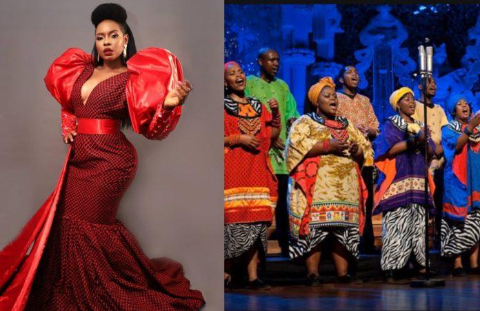 Yemi Alade and Soweto Gospel Choir