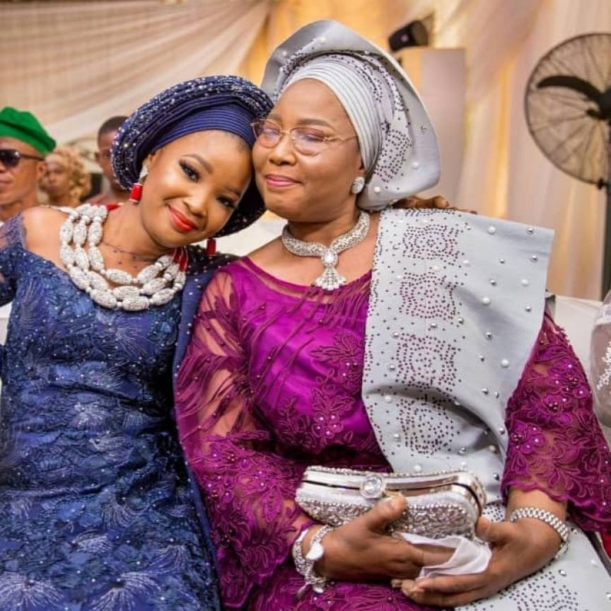 Tinsel Star Wendy Lawal Mourns As She Loses Mom