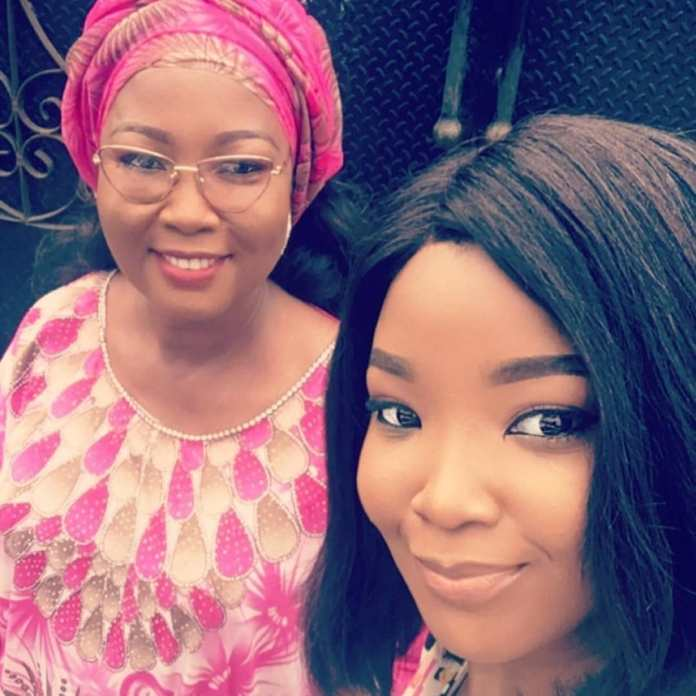 Wendy Lawal and Deceased Mom