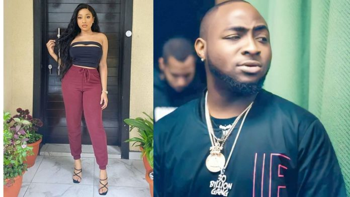Lady Shares Screenshot Of Davido's Message To Her