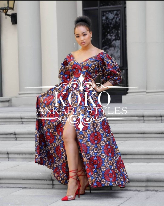 Regal Ankara Long Gown Styles