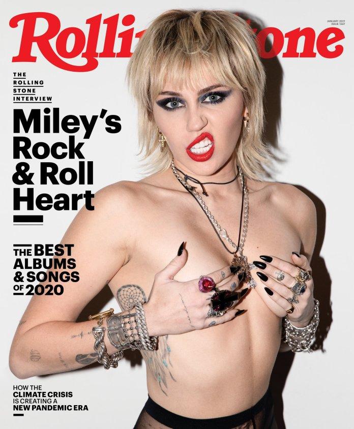 Miley Cyrus on Rollingstone