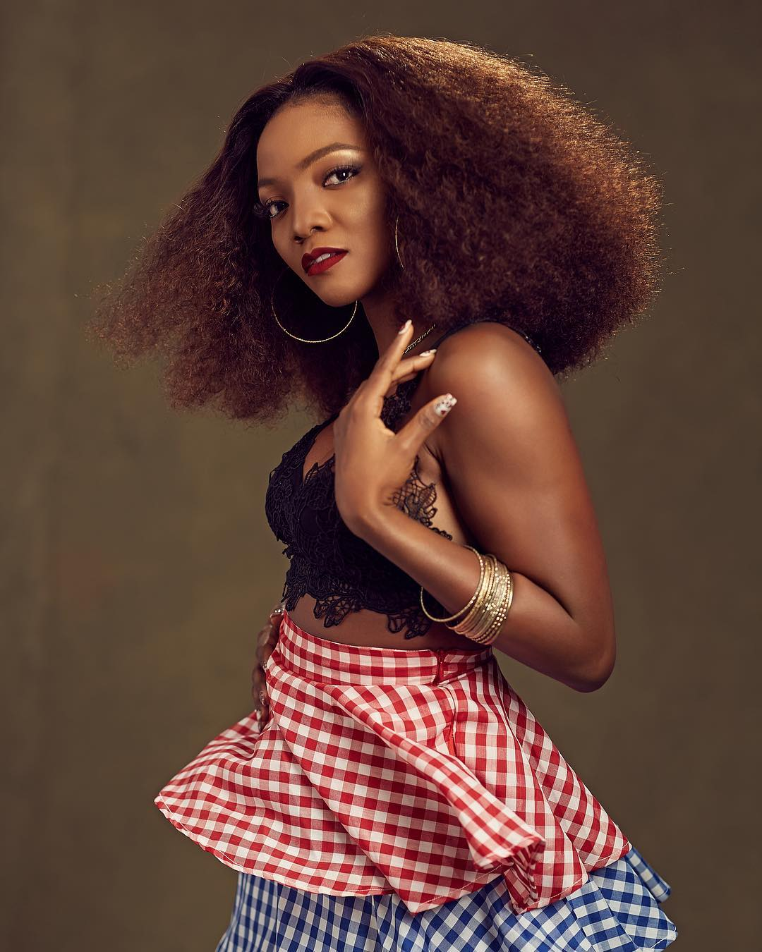 It's Embarrassing! Simi Condemns Christians Supporting Trump