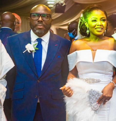 Seun Obasanjo and wife Deola Shonubi