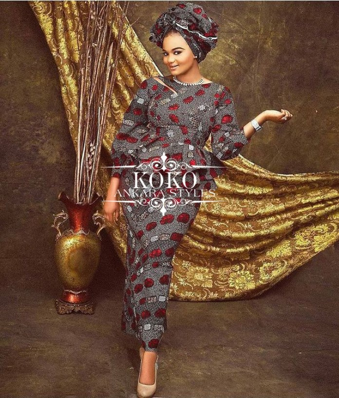 Take Your Glam Game Up A Notch In These Alluring Ankara Styles