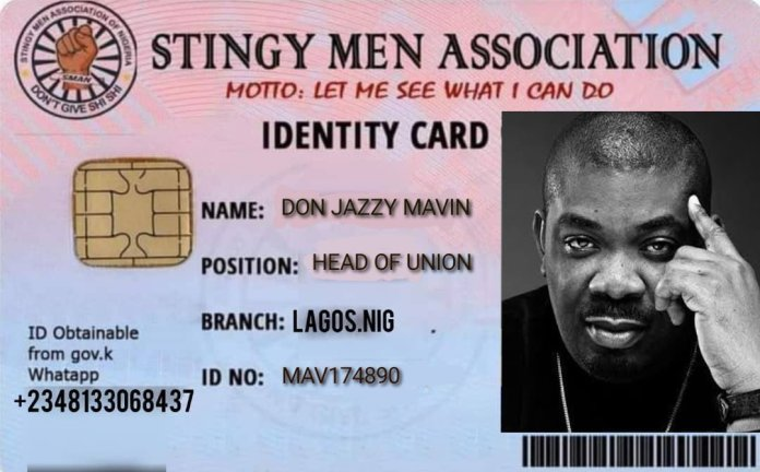 Don Jazzy named Head Of SMAN Union Lagos Chapter