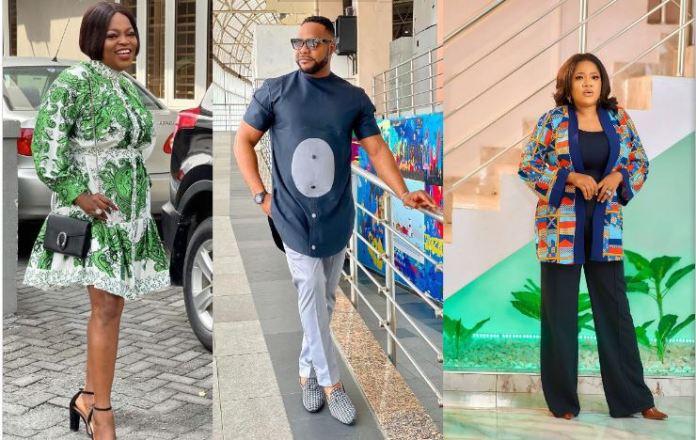 Funke Akindele, Bolanle Ninalowo and Toyin Abraham