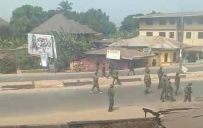 Tension In Orlu Again As Military 'Conducts' Air Strikes In Search Of ESN