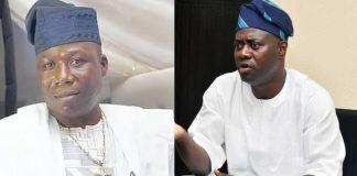 Sunday Igboho and Seyi Makinde